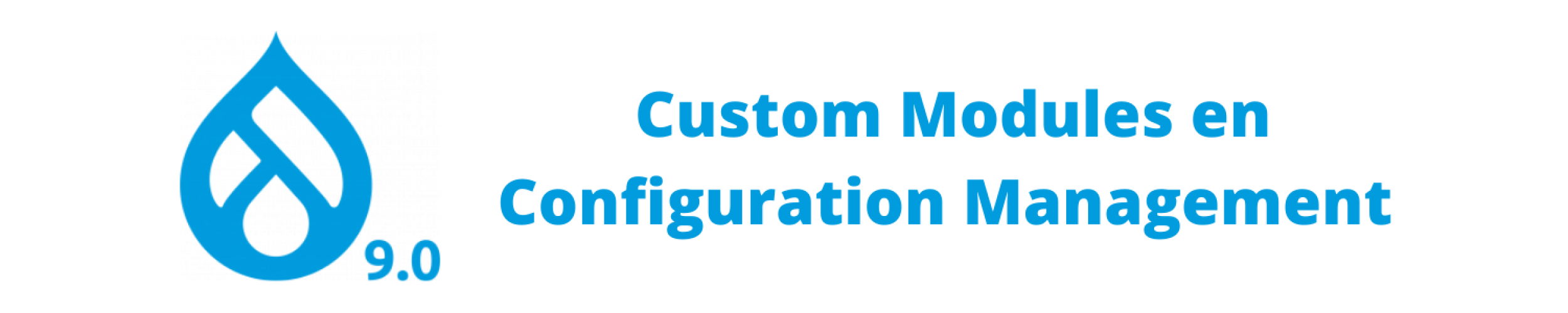 Drupal 9 Custom Modules en Configuration Management